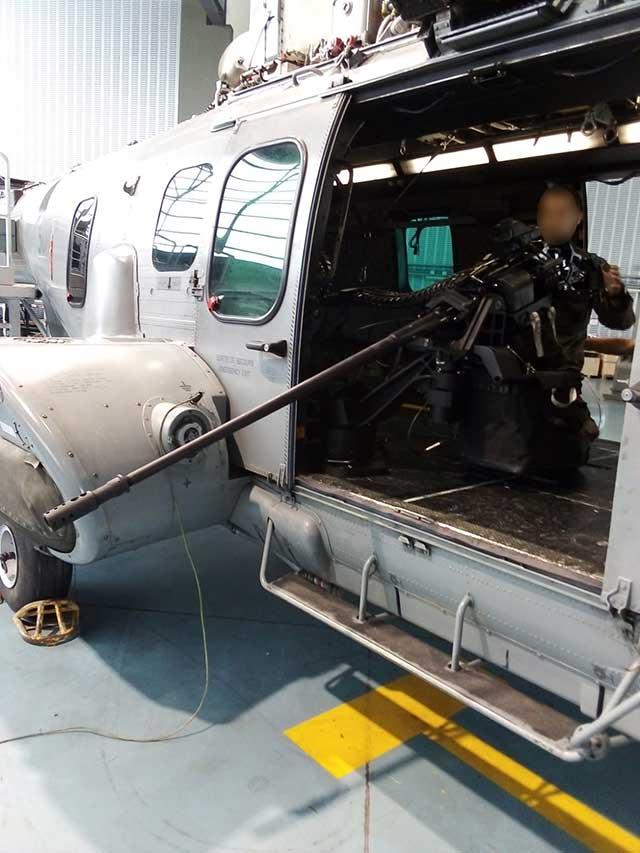 EC 725 Helicopter M3M Armament image 1